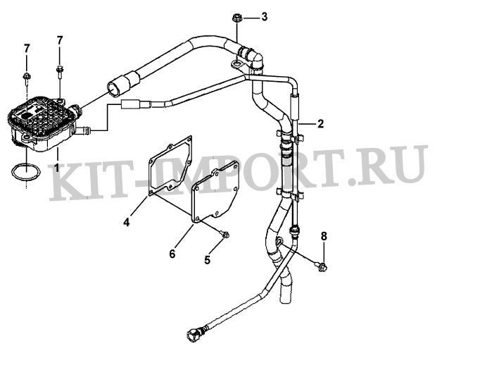 Система вентиляции картера BR9239