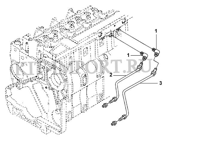 Трубки охлаждающей жидкости компрессора CC9297