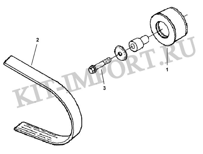 Установка привода кондиционера CF9118