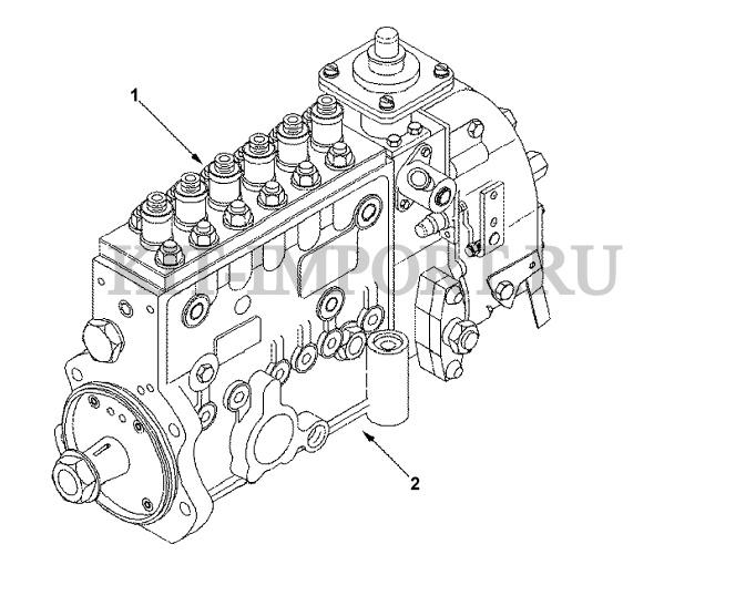 Топливный насос высокого давления FP90545